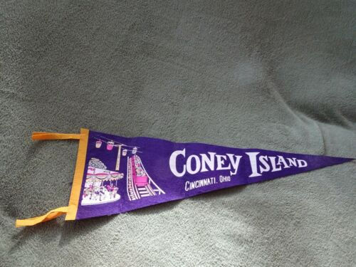 Cincinnati Collectible Coney Island Vintage Pennant