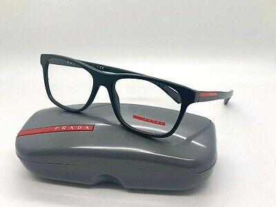 Prada Sport Eyeglasses VPS01F TIQ 101 55-17-140MM MATTE DARK GREEN (Prada Men Glasses)