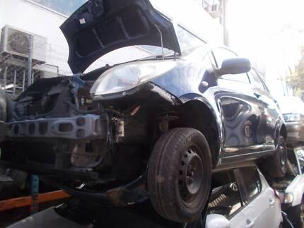 Toyota Yaris 2006 is now WRECKING!!!