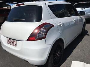 """PEARL WHITE 2011 SUZUKI SWIFT AUTO 18"""" RIMS FROM $62P/W Capalaba West Brisbane South East Preview"""