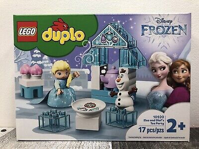 LEGO DUPLO 10920 Disney Frozen Elsa and Olaf's Tea Party NEW + Free Shipping