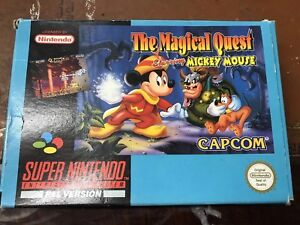 THE MAGICAL QUEST STARRING MICKEY MOUSE SNES Box Only