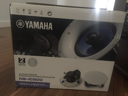 Yamaha NS IC600 In Ceiling Speakers - Brand new in box