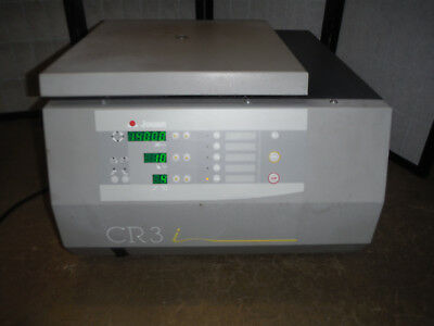 Jouan Refrigerated Centrifuge Cr3i W T-20 Rotor And Microplate Carriers