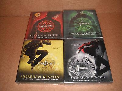 Chronicles of Nick Vol. 2,3,5,6 by Sherrilyn Kenyon Audio CD, Unabridged