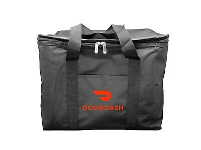 Doordash Food Delivery Bag 12x13x17 Hot Food Carrier