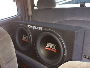 MTX subs with amp