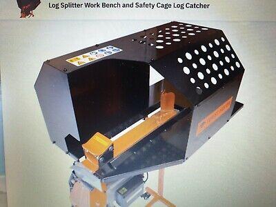 Log splitter Workbench & Safety Guard Log Catcher for Forest-Master FM10 Model.
