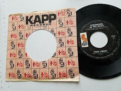 JACK JONES - The Impossible Dream / Strangers in the Night 1966 JAZZ POP Kapp 7