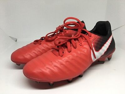 d0ed88d649c54c Nike Jr Tiempo Legend VII 7 FG Size 4Y Soccer Cleat Red Black 897728-616