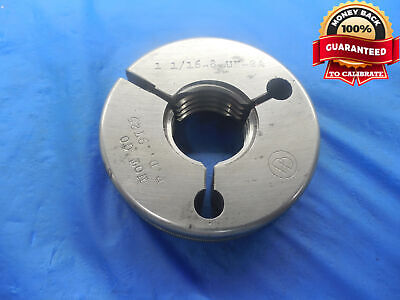 1 116 8 Un 2a Thread Ring Gage 1.0625 No Go Only P.d. .9725 N-2a Quality Tool
