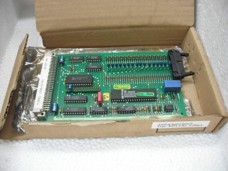 New Kongsberg Autronica Kda-2/r1 Analog Input Board