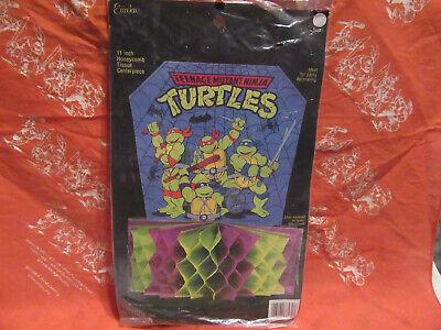 TMNT Ninja Turtle Halloween Honeycomb Centerpiece (Tmnt Halloween Action Figures)