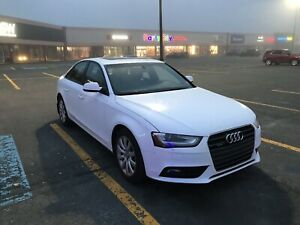 2013 Audi A4 Quattro with 80,000km left of warranty!!!