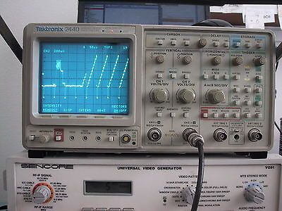 Cald Tektronix 2440 300mhz Oscilloscope Guaranty Opt.5 Tv Sync Avail For Xtra
