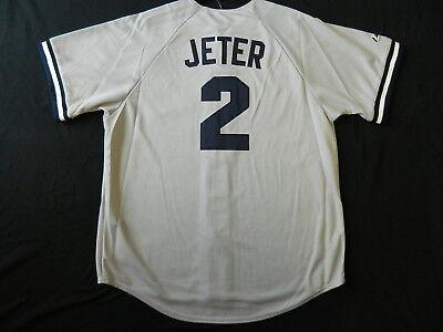 - Official Derek Jeter New York Yankees Road Gray Jersey 2X Reg. $109.99 CLEARANCE