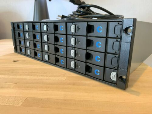 Xyratex Compellent RS-1600-FC 16 Bay Storage Array SAN with trays caddy NO HDD