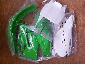 Plastiksatz Plastikkit inkl. Nummerntafel OEM Kawasaki KX 125 250 2000-2002 2001