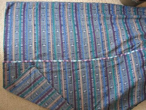 Authentic Guatemala Maya Skirt Corte Textile Material Almolonga FREE SHIP