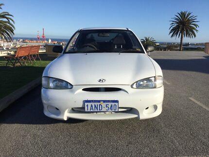 1999 Hyundai Excel Hatchback Fremantle Fremantle Area Preview