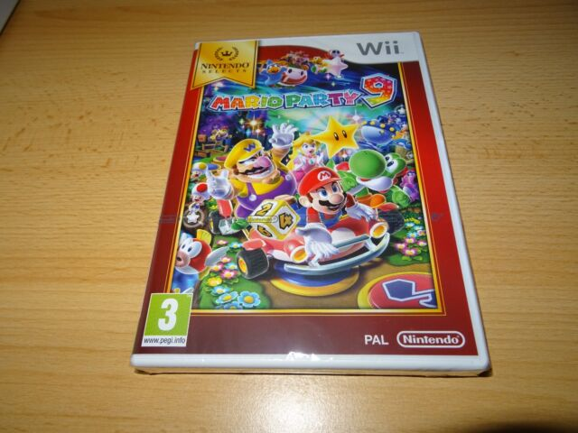 Nintendo Selects: Mario Party 9 Nintendo Wii NEW SEALED