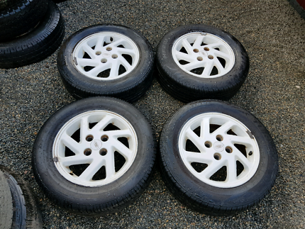 Ford Laser Wheels $119 the lot