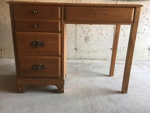 For sale Beautiful antique office table writing desk