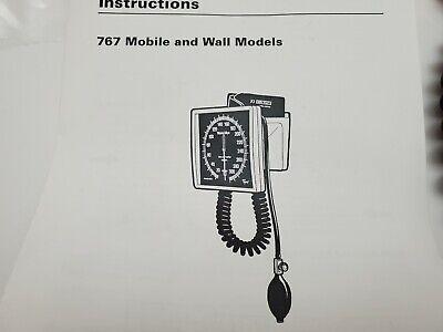 New Welch Allyn 7670-01 Mounted Gauge Flexiport Blood Pressure Cuff Adult 11