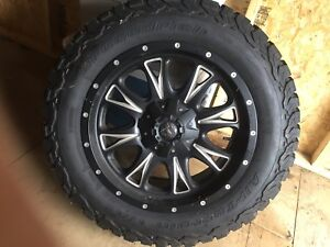 "Almost New 20"" BF Tires - Fuel Rims - Dodge Ram"
