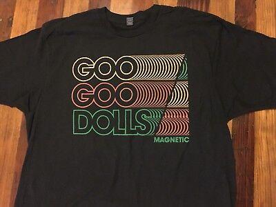 Goo Goo Dolls T Shirt New Size XL Last One Left In Stock