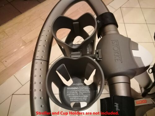 Stokke DOUBLE Cup Holder ADAPTER - Fits Stokke Xplory Stroller