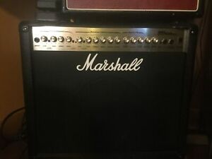 Marshal an epiphone amps