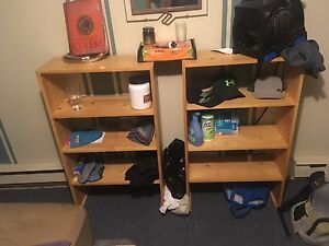 2 shelfs