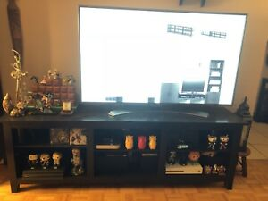 "Black Sunbury 70"" TV Stand"