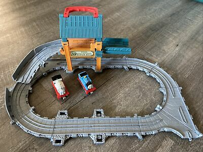 Thomas And Friends Sodor Steamworks Repair Shed Stanley Engines Take-N-Play