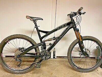 "Yeti SB66 Mountain Bike Large, Shimano XT, Fox 34 150 CTD fork, 26"" Wheel."