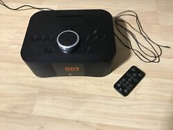 Logitech S400i 30-Pin iPod/iPhone Alarm Clock Radio Dock w/Remote Control