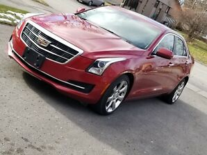 2015- CADILLAC ATS4 20t-LUXURY--NAV CAMERA  WITH WARRANTY