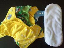 Babyland Cloth Re-Usable Nappies x5 Palmwoods Maroochydore Area Preview