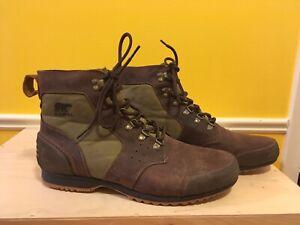 Never Worn Men's Sorel Mid Waterproof Hiking Boots 13