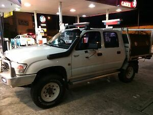 2002 Toyota Hilux Ute Hazelbrook Blue Mountains Preview
