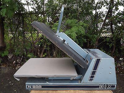 Hix N-800 Heat Press Machine