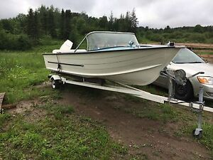 15 Starcraft boat with 50hp motor