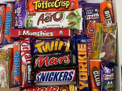 Lockdown Chocolate Variety Gift Box - Cadbury's, Nestle, McVities, Kinder