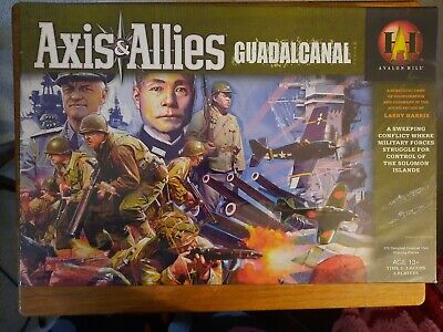 Axis & Allies Guadalcanal NIB