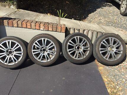 Wheels tyres Lisarow Gosford Area Preview