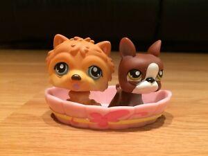 Littlest Pet Shop Pet Pairs Dogs #117, 118 (2006)