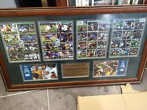 Rugby sports memorabilia - great christmas gift idea North Sydney North Sydney Area Preview
