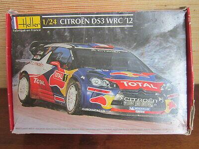 MAQUETTE AUTO HELLER CITROEN DS3 WRC 2012, 1/24,