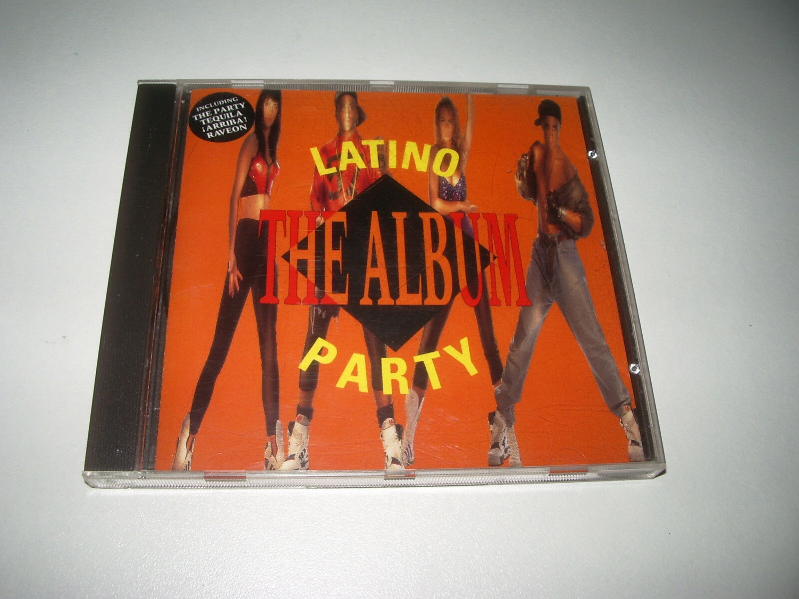 cd latino party the album 12 titres 1990
